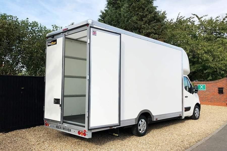 Maximover Van for Large Office and House Removals in Dublin and Cork
